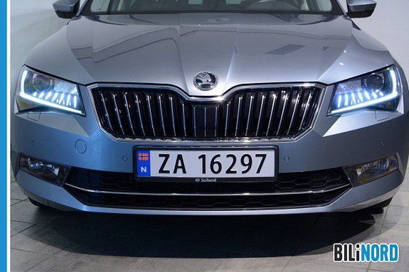 Bilbilde: Skoda Superb