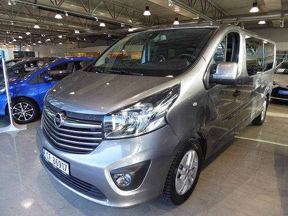 Opel Vivaro 1,6 BiTurbo 125hk Premium L2H1  2017, 48656 km, kr 419000,-