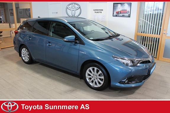 Toyota Auris Touring Sports 1,8 Hybrid Active S **VELHOLDT**NYBILGAR  2016, 37000 km, kr 229000,-