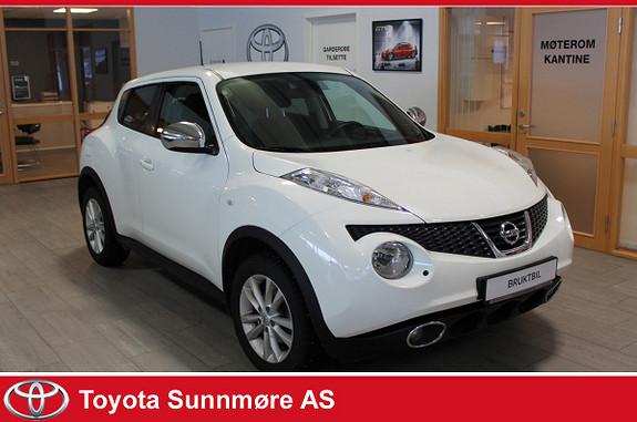 Nissan Juke 1,6 117 hk Tekna CVT Aut. Lav km  2012, 39455 km, kr 123900,-