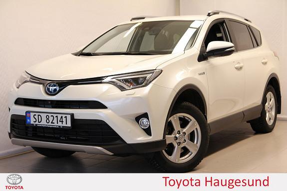Toyota RAV4 Hybrid 4WD Executive Skinn, navi, DAB, Bl.tooth, Tectyl  2016, 12224 km, kr 415000,-
