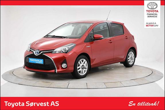 Toyota Yaris 1,5 Hybrid Style e-CVT  2016, 58682 km, kr 169000,-