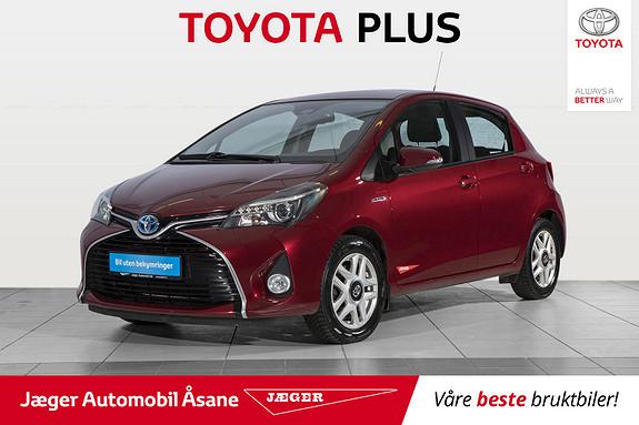 Toyota Yaris 1,5 Hybrid Active S e-CVT  2016, 41300 km, kr 189000,-
