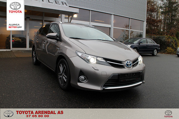 Toyota Auris Touring Sports 1,8 Hybrid Active+  2015, 58 643 km, kr 189 000,-
