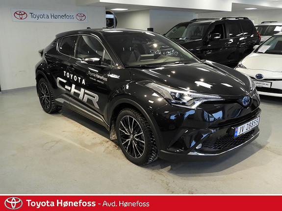 Toyota C-HR 1,8i Hybrid Supreme Tech  2018, 10900 km, kr 339000,-