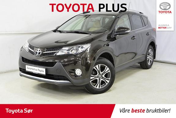 Toyota RAV4 2,0 4WD Executive CVT bensin/automat  2014, 40219 km, kr 329000,-