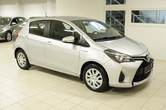 Toyota Yaris 1,5 Hybrid Active e-CVT Klima/DAB+/Navigasjon  2014, 104000 km, kr 124000,-