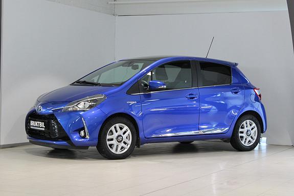 Toyota Yaris 1,5 Hybrid Style e-CVT Topputgave Demobil!  2017, 14900 km, kr 229000,-