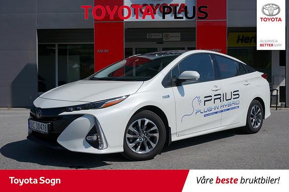 Toyota Prius Plug-in Hybrid 1,8 VVT-i Solar PHV  2017, 16000 km, kr 299900,-