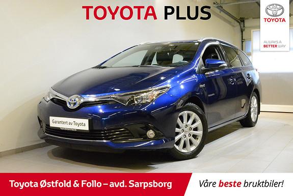 Toyota Auris Touring Sports 1,8 Hybrid Active S , PARK. SENSOR F/B,  2016, 44700 km, kr 228000,-