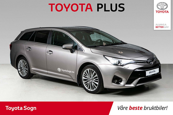 Toyota Avensis 1,6 D-4D Active Style  2015, 70935 km, kr 229000,-