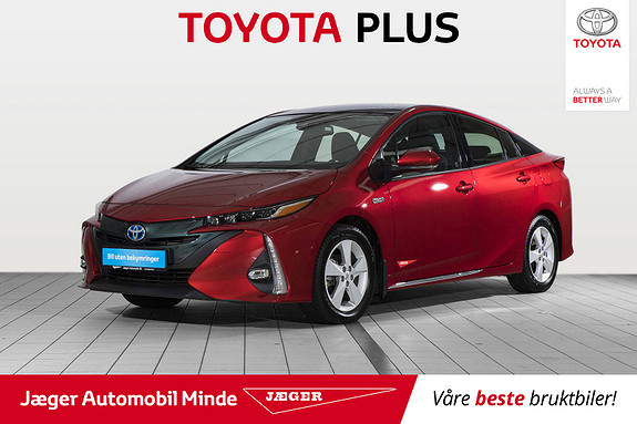 Toyota Prius Plug-in Hybrid 1,8 VVT-i Solar PHV Solcelletak.Flott bil  2018, 3700 km, kr 329000,-