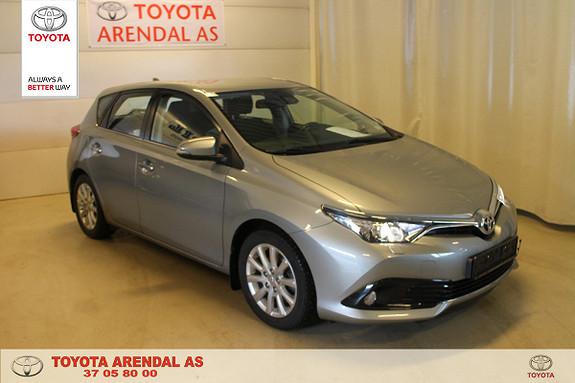 Toyota Auris 1,2 Turbo Active aut Meget flott og velholdt  2015, 41000 km, kr 169000,-