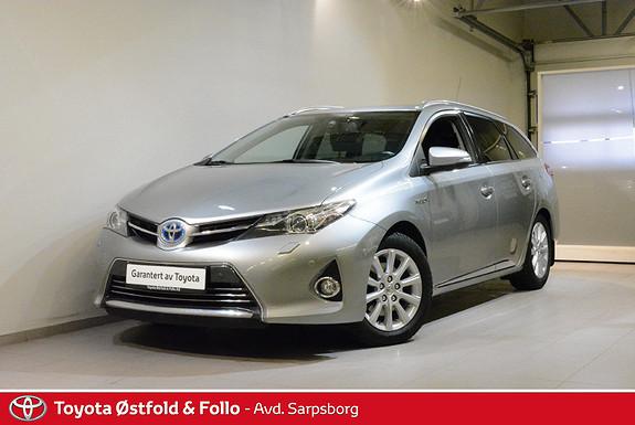 Toyota Auris Touring Sports 1,8 Hybrid Executive , DELSKINN/XENON,  2014, 122500 km, kr 149000,-