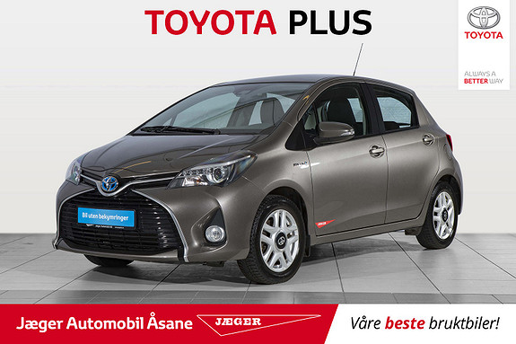 Toyota Yaris 1,5 Hybrid Active S e-CVT  2016, 54000 km, kr 189000,-
