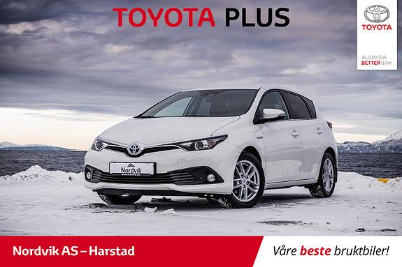 Toyota Auris 1,8 Hybrid E-CVT Active Sport NAVI/RYGGEKAM/BT/CRUISE  2017, 49105 km, kr 265000,-