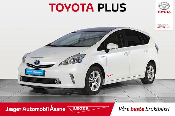 Toyota Prius+ Seven 1,8 VVT-i Hybrid Executive Skyview  2014, 44800 km, kr 279000,-