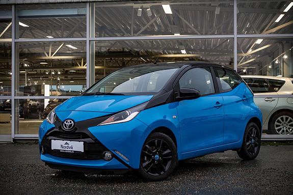 Toyota Aygo x-cite 1,0  2016, 22441 km, kr 139000,-