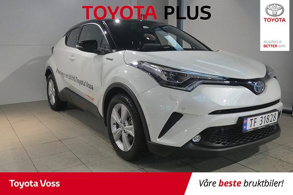 Toyota C-HR 1,8i Hybrid Lounge Tech DEMOBIL!  2018, 6900 km, kr 369000,-