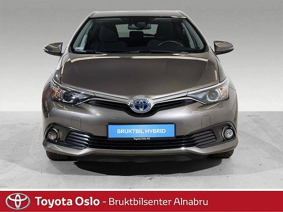 Toyota Auris 1,8 Hybrid E-CVT Active Sport Automat, Navi, DAB+,  2017, 33567 km, kr 237900,-
