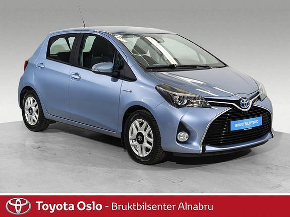 Toyota Yaris 1,5 Hybrid Active S e-CVT Navi, Automat,  2017, 45363 km, kr 178900,-
