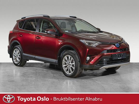 Toyota RAV4 Hybrid AWD Executive Toppmodell  2018, 11500 km, kr 474900,-