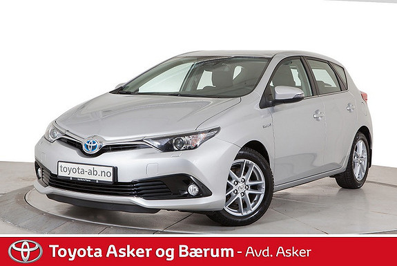 Toyota Auris 1,8 Hybrid E-CVT Active KAMPANJE SE TEKST  2017, 44555 km, kr 228000,-