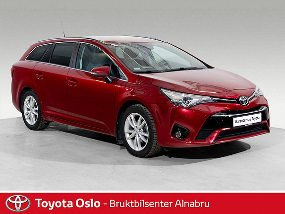 Toyota Avensis Touring Sports 1,8 Active Style M-drive S7 Automat, DAB  2017, 47278 km, kr 294900,-