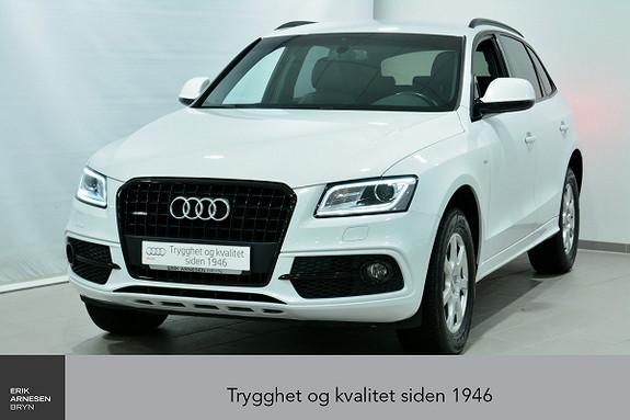 Audi Q5 2,0 TDI 163hk quattro S tronic INNBYTTEKAMPANJE*  2016, 59990 km, kr 439900,-