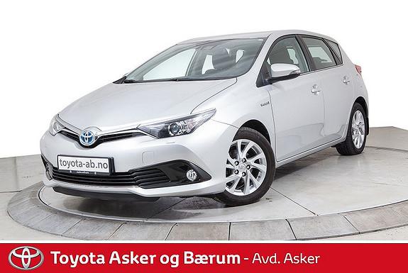 Toyota Auris 1,8 Hybrid E-CVT Active KAMPANJE SE TEKST  2017, 42300 km, kr 228000,-