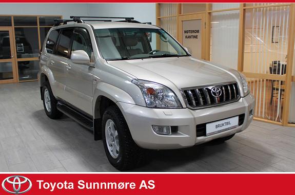 Toyota Land Cruiser 3,0 D-4D GX Aut 7 seter  2009, 199005 km, kr 306900,-