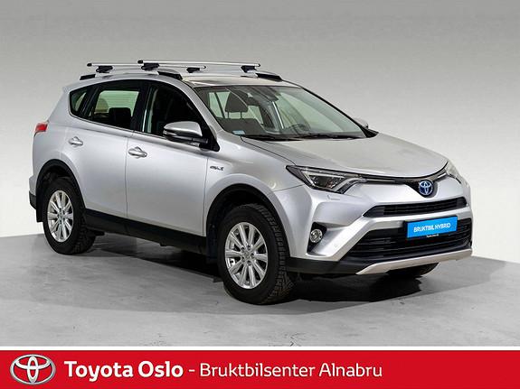 Toyota RAV4 Hybrid 4WD Active S Automat, DAB+, Navi,  2016, 50643 km, kr 389900,-