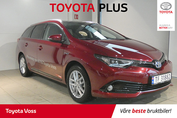 Toyota Auris Touring Sports 1,8 Hybrid Sport Vision DEMOBIL!  2018, 3917 km, kr 289000,-