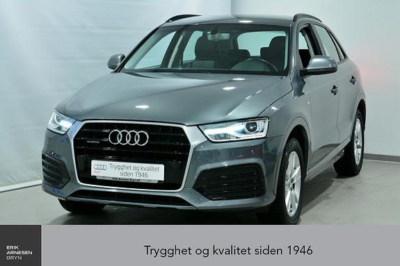 Audi Q3 2,0 TDI 150hk quattro S tronic INNBYTTEKAMPANJE*  2016, 42100 km, kr 369900,-