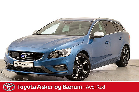Volvo V60 T6 R-Design AWD aut KAMPANJE!!  2017, 52600 km, kr 514000,-