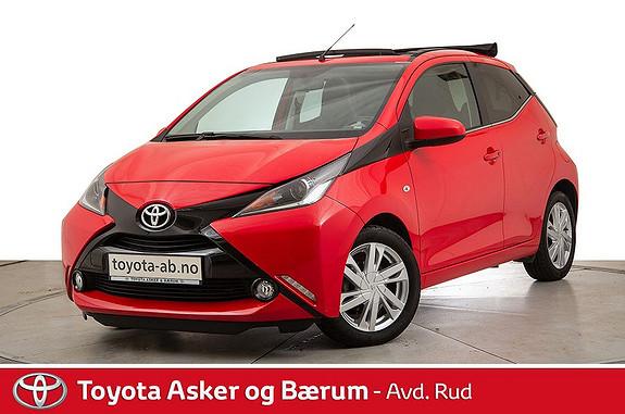 Toyota Aygo x-wave 1,0 x-shift Open Air!! KAMPANJE!  2015, 39700 km, kr 129000,-