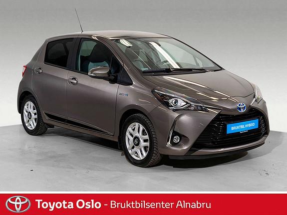 Toyota Yaris 1,5 Hybrid Active+ e-CVT aut Innbyttekampanje  2018, 28337 km, kr 214900,-