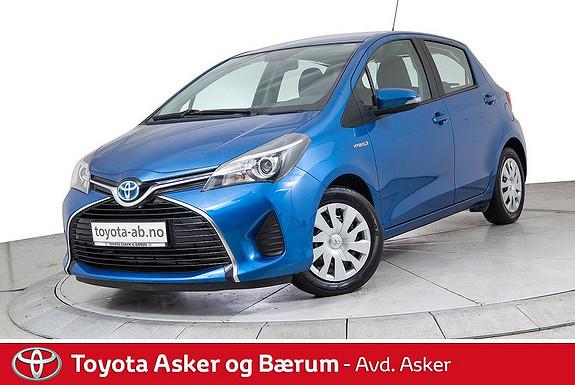 Toyota Yaris 1,5 Hybrid Active e-CVT KAMPANJE SE TEKST  2015, 43700 km, kr 149000,-