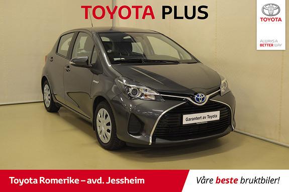 Toyota Yaris 1,5 Hybrid Active Go e-CVT aut DEFA, Navigasjon  2015, 35300 km, kr 159000,-