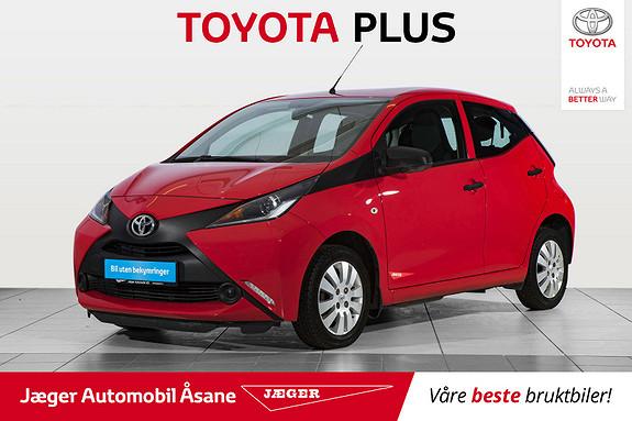 Toyota Aygo 1,0 + 5-d  2014, 44000 km, kr 99000,-