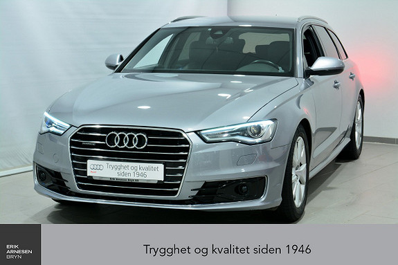 Audi A6 Avant 2,0 TDI 190hk quattro S tronic INNBYTTEKAMPANJE*  2016, 63327 km, kr 459900,-