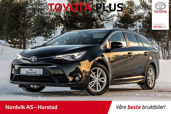 Toyota Avensis Touring Sports 1,8 Active M-drive S7 BT, NAVI, RYGGEKAM  2017, 50716 km, kr 289000,-
