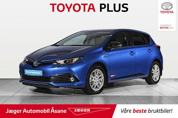 Toyota Auris 1,8 Hybrid E-CVT Sport Vision  2018, 3000 km, kr 289000,-
