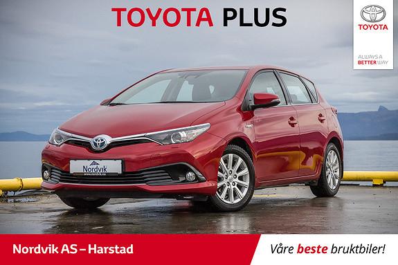 Toyota Auris 1,8 Hybrid E-CVT Active | NAVI, RYGGEKAMERA, CRUISE |  2016, 34324 km, kr 249000,-