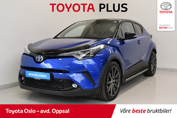 Toyota C-HR 1,8i Hybrid Lounge Tech  2018, 22942 km, kr 349900,-