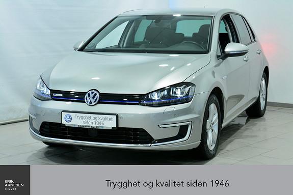 Volkswagen Golf E-Golf 115hk INNBYTTEKAMPANJE*  2016, 23600 km, kr 229900,-