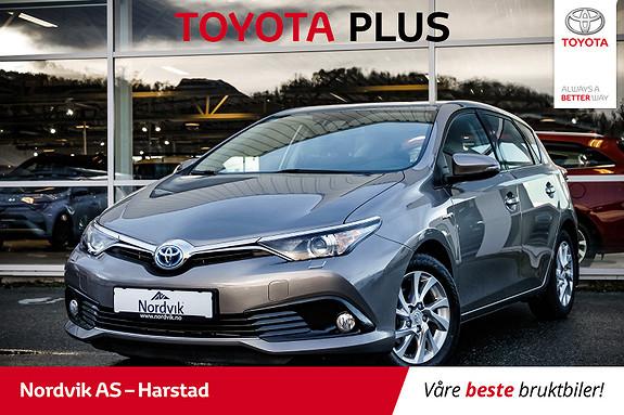 Toyota Auris 1,8 Hybrid E-CVT Active | NAVI, RYGGEKAMERA, CRUISE |  2016, 53440 km, kr 239000,-