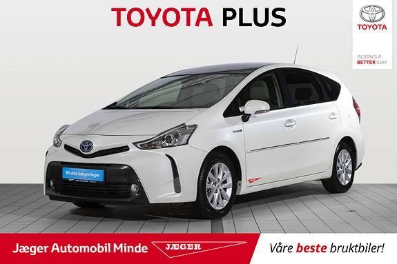Toyota Prius+ Seven 1,8 VVT-i Hybrid Premium Toyota Safety Sense, Demobil  2018, 886 km, kr 379000,-