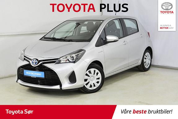 Toyota Yaris 1,5 Hybrid Active e-CVT aut  2016, 25500 km, kr 175000,-