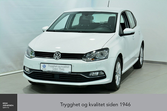 Volkswagen Polo 1,0 75hk Comfortline INNBYTTEKAMPANJE*  2017, 47600 km, kr 148900,-